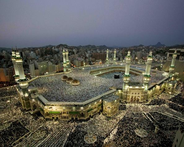Die Kaaba in der Kadir-Nacht