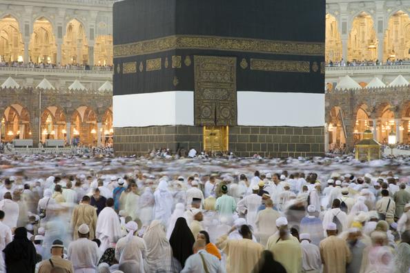 Vor der Kaaba